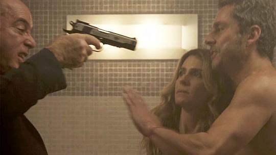 Final de 'A Regra do Jogo': Atena e Romero ficam na mira de Zé Maria; confira o teaser!