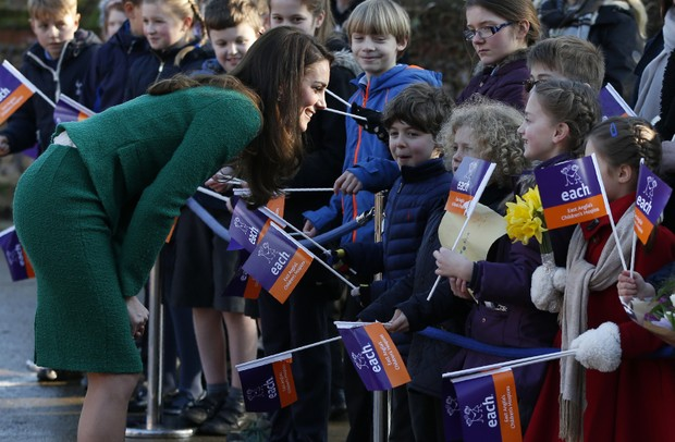 Kate Middleton (Foto: Adrian DENNIS / AFP)