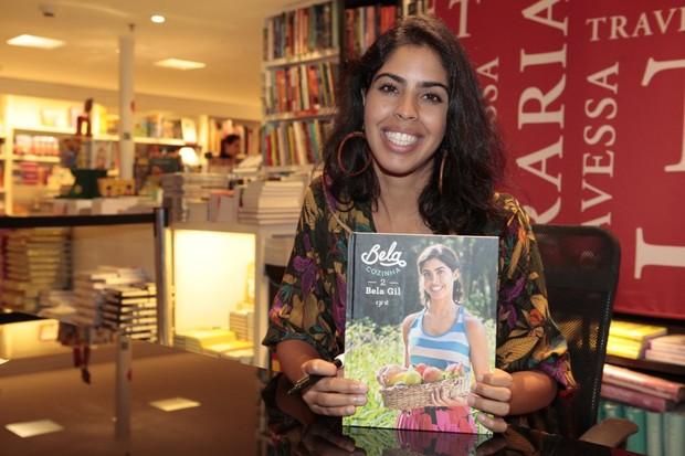 Lançamento do livro de Bela Gil (Foto: Isac Luz / EGO)