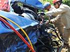Casal morre e crianças ficam feridas durante colisão em estrada no AM