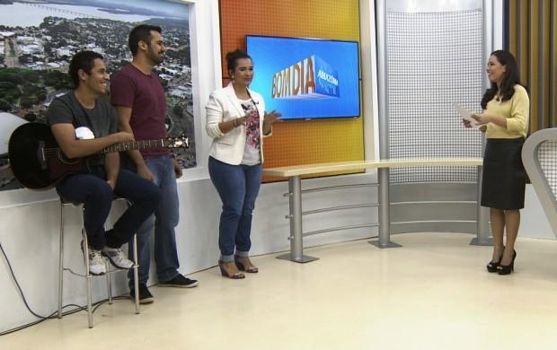Banda 'Ministério Creio' lança CD em Roraima (Foto: Bom Dia Amazônia)