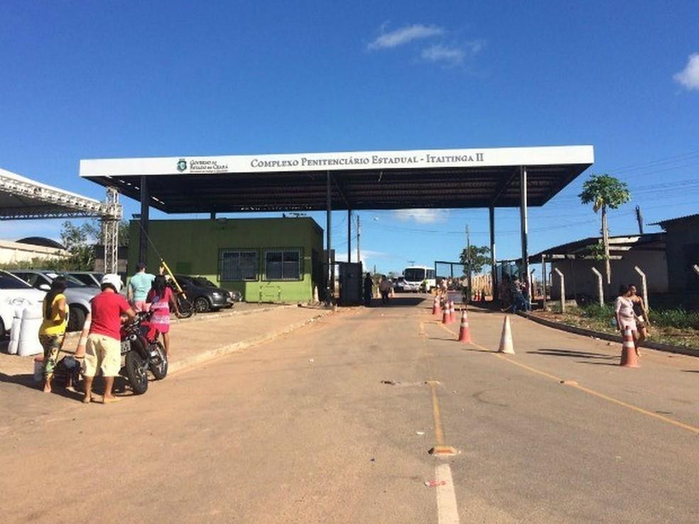 Itaitinga, que reúne os maiores presídios do Ceará, será a primeira cidade a receber o projeto (Foto: Wânyffer Monteiro/G1 )