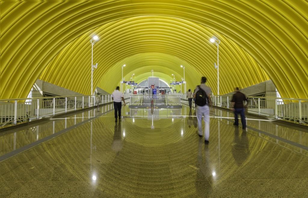 Estação do metrô de Salvador, por João Batista Martinez Correa (Foto: Divulgação)