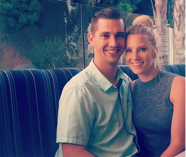 Heather Morris e Taylor Hubbell (Foto: Instagram)