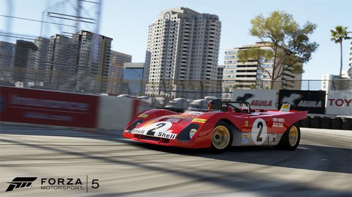 Prepare-se para jogar no inédito circuito Long Beach com 5 novos carros em Forza Motorsport 5 (Foto: VG247)