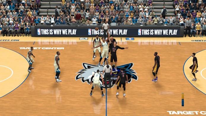 Como jogar NBA 2K17, o novo game da série de basquete (Foto: Reprodução/Felipe Vinha)