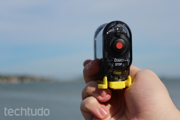 Sony Action Cam HDR-AS15 (Foto: Anna Kellen/TechTudo)