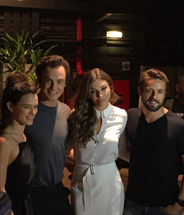 Bianca Bin, Sérgio Guizé, Grazi Massafera e Rafael Cardoso (Foto: Reprodução )