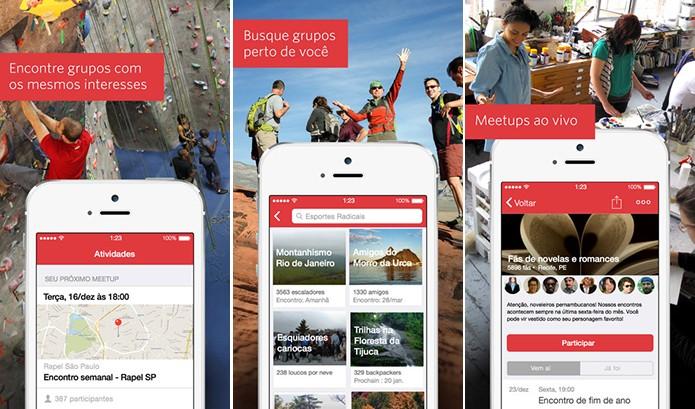 Meetup é um aplicativo que reune pessoas ao redor de um mesmo interesse (Foto: Divulgação/Windows Phone Store)