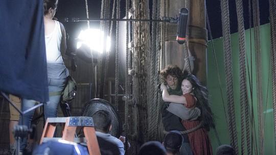 Making of mostra tudo sobre as cenas de ação de 'Novo Mundo'