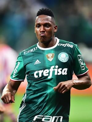 Yerry Mina Palmeiras (Foto: Marcos Ribolli)