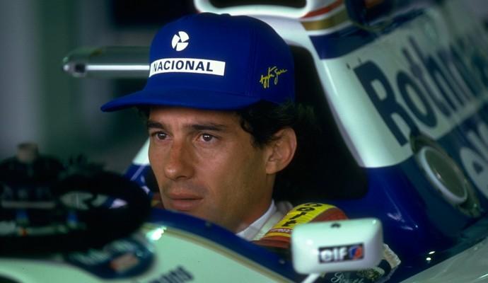 Após fazer história na McLaren, Ayrton Senna só pôde disputar três GPs pela Williams (Foto: Getty Images)