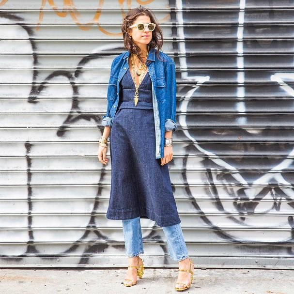 Leandra Medine, do Man Repeller, aprova essa tendência (Foto: Reprodução/Instagram)