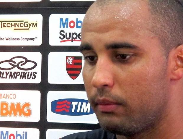 Deivid, atacante do Flamengo (Foto: Richard Fausto de Souza / Globoesporte.com)