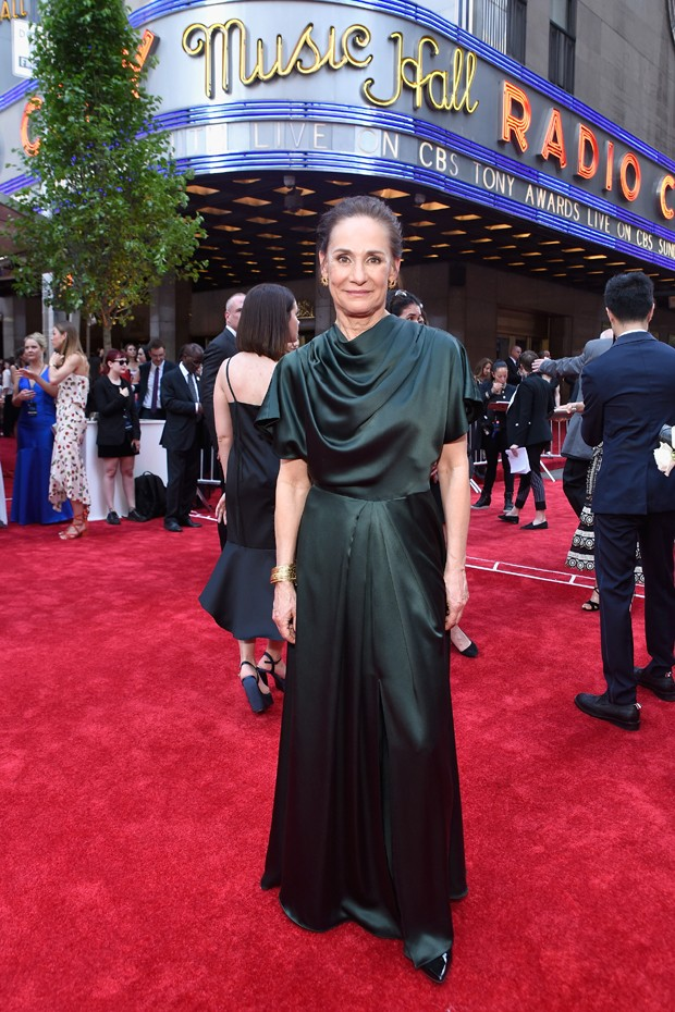 Laurie Metcalf, melhor atriz de peça (Foto: Getty Images)