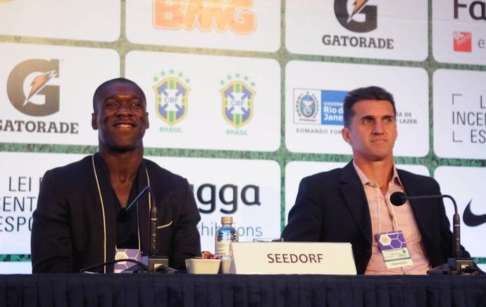 FOOTECON 2013 Seedorf e Mancini  (Foto: André Durão )