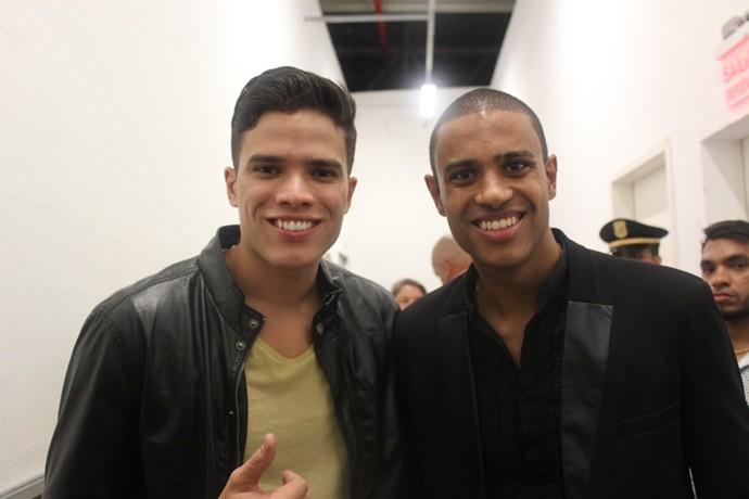Se é samba, então tem que ter Marcos Lessa e Romero Ribeiro juntos. (Foto: Luanna Gondim / TV Verdes Mares)