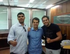 Eduardo, Marco Antônio e Ricardo (Foto: Eduardo Fernandes/Arquivo Pessoal)