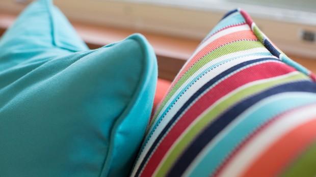 Mveis para reas externas pedem tecidos especiais (Foto: Foto: Divulgao/Regatta Tecidos)