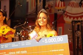 Maria Luisa de Albuquerque, do Piauí, vence o concurso Beleza Nordestina (Foto: Anderson Barros/ EGO)