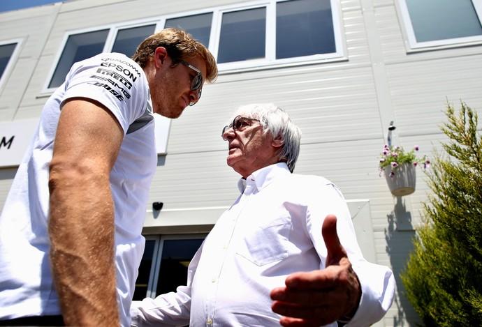 Bernie Ecclestone rebateu críticas de Nico Rosberg sobre circuito de Baku (Foto: Getty Images)