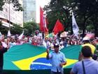 BH - 18h40: Manifestantes percorrem vias do centro da capital