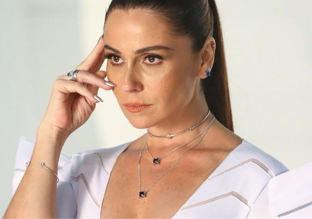 Giovanna Antonelli para Rommanel (Foto: Divulgação)
