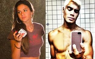 Bruna Marquezine e Micael Borges (Foto: Graça Paes/Divulgação e Instagram)