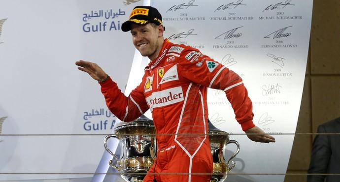 Sebastian Vettel Ferrari GP do Bahrein F1 (Foto: Reuters)