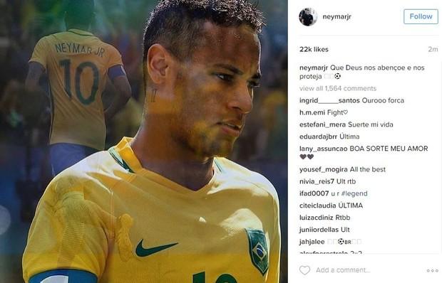 Neymar (Foto: Instagram / Reprodução)