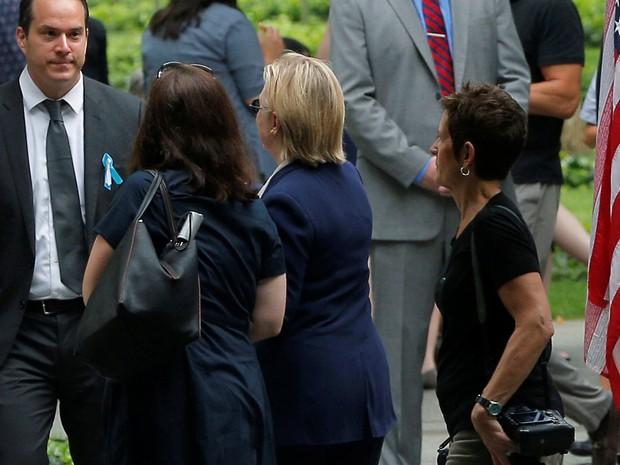 Resultado de imagem para Hillary clinton doente