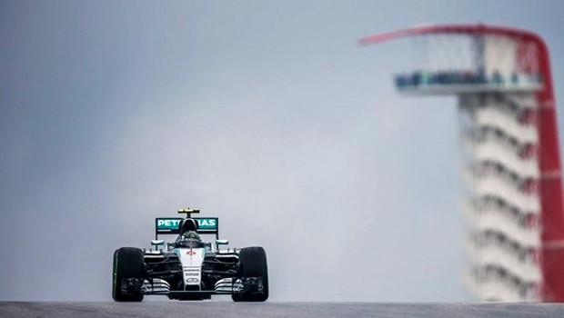 Nico Rosberg dominou a primeira sessão de treinos livres para o GP dos Estados Unidos (Foto: Divulgação/Mercedes)