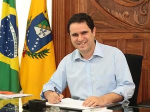 Edivaldo Holanda Júnior apresenta, nesta quarta-feira (10), um balanço sobre os 100 dias de governo (Foto: Honório Moreira/Secom/São Luís)