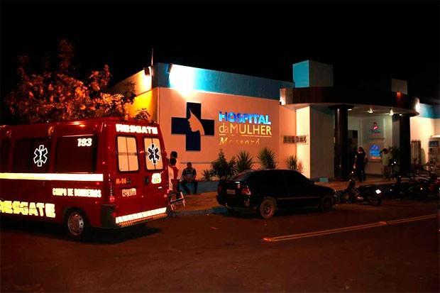Explosão aconteceu na tubulação de oxigênio dentro da UTI Neonatal do Hospital da Mulher de Mossoró (Foto: Marcelino Neto/G1)
