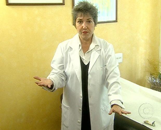 Enfermeira ensina como uma pessoa pode sentir energia (Foto: Mais Você / TV Globo)