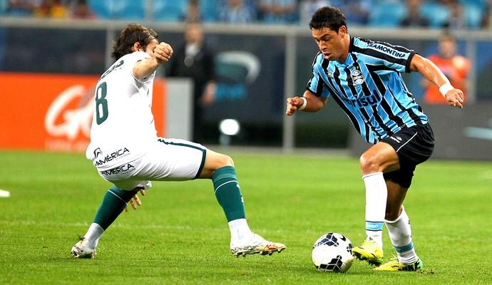 Giuliano jogo Grêmio x Goiás (Foto  Divulgação   Site Oficial do Grêmio) 205fe9a69d475