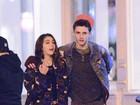 Filha de Madonna passeia com o namorado em Nova York