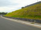 Obra de contenção de morro ao lado de viaduto em Cuiabá é finalizada