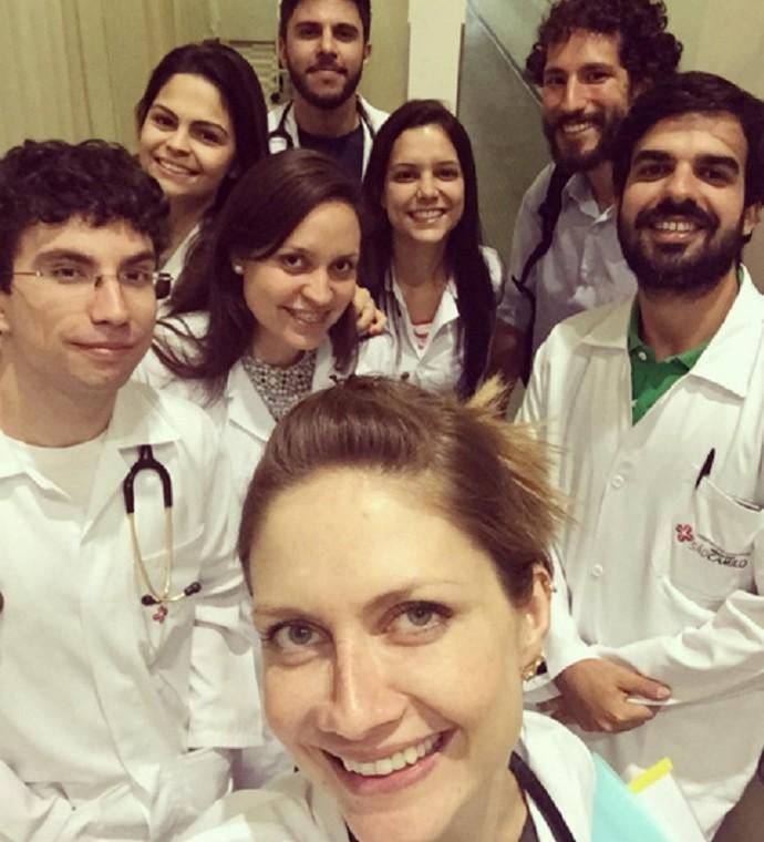 Ana Claudia Michels está no terceiro ano de medicina (Foto: Arquivo Pessoal)