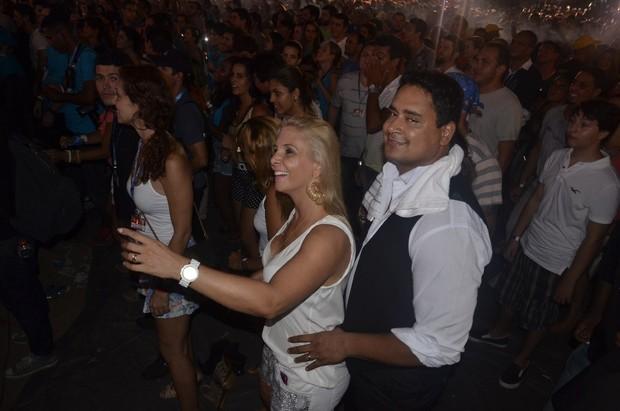Carla Perez e Xanddy no Festival de Verão de Salvador, na Bahia (Foto: Fred Pontes/ Divulgação)