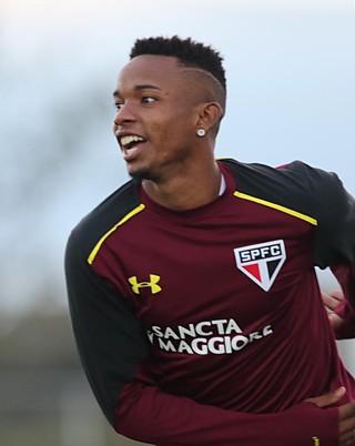 Thiago Mendes São Paulo Bradenton (Foto: Rubens Chiri/saopaulofc.net)