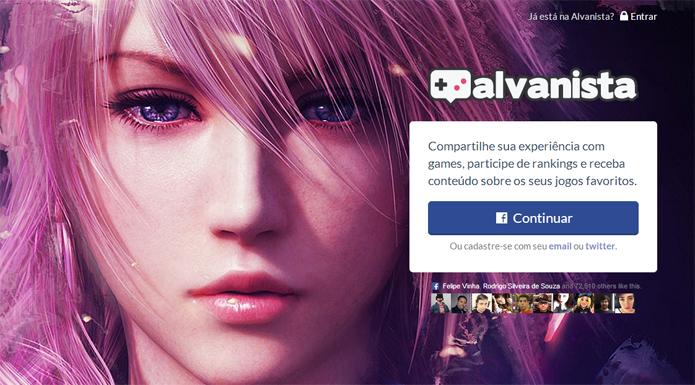 Alvanista é uma rede social para jogadores de todos os tipos (Foto: Reprodução/Felipe Vinha)