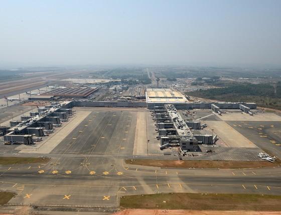 Aeroporto Internacional de Viracopos, em Campinas (Foto: Divulgação/Aeroportos Brasil Viracopos)
