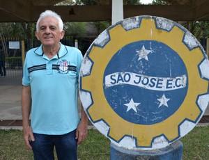 Geléia, candidato à presidência do São José-SP (Foto: Danilo Sardinha/Globoesporte.com)