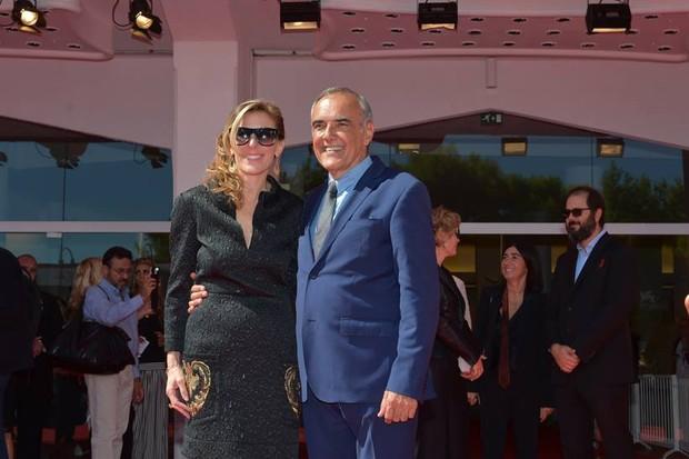 Amy Berg e Alberto Barbera, diretor do festival (Foto: Divulgação)