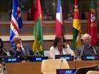 Representantes de nove nações que falam português se reúnem na ONU