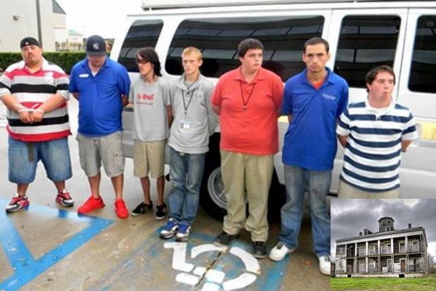 Grupo estava à procura de fantasmas em mansão histórica (Foto: St. Bernard Parish Sheriff's Office/Divulgação)