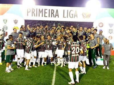 Fluminense título Primeira Liga (Foto: André Durão)