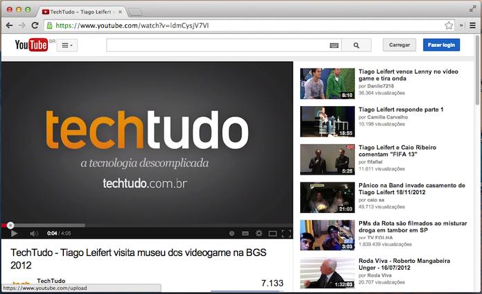 Acesse o vídeo no YouTube (Foto: Reprodução/Helito Bijora)