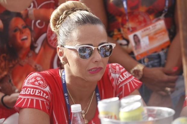 Viviane Araújo na apuração dos desfiles do grupo especial do Rio (Foto   Marcos Ferreira 4c74eb1f73